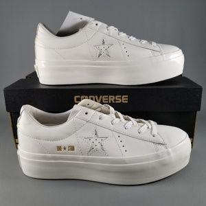 6c71e806fcb24e Converse Shoes - Converse One Star Platform Ox Women s Shoes SZ 7.5